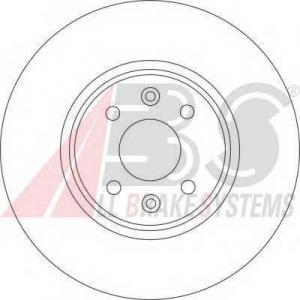 A.B.S. 17191 Тормозной диск Ауди А2