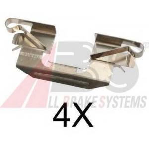 A.B.S. 1720Q Комплектующие, колодки дискового тормоза Мазда Ц-Икс 7