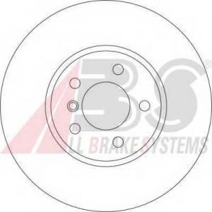 A.B.S. 17230 Тормозной диск Бмв Х5