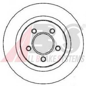 A.B.S. 17265 Тормозной диск Крайслер 300