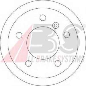 A.B.S. 17347 Тормозной диск Мерседес Спринтер 2Т