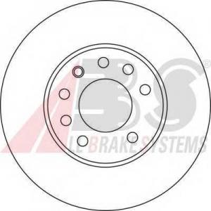 A.B.S. 17368 Тормозной диск Фиат Хрома