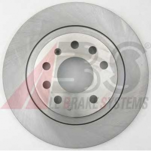 A.B.S. 17369 Диск тормозной FIAT/OPEL/SAAB CROMA/SIGNUM/VECTRA/9-3 задн. (пр-во ABS)