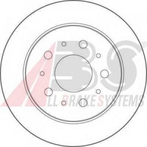 A.B.S. 17461 Тормозной диск Ситроен Джампер
