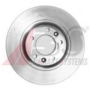 A.B.S. 17555 Тормозной диск Ситроен С5 Брейк