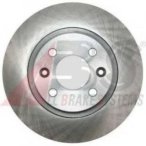 A.B.S. 17619 Диск тормозной DACIA/RENAULT TWINGO/LOGAN передн. (пр-во ABS)