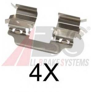 ABS 1770Q Ремкомплект гальмiвних колодок