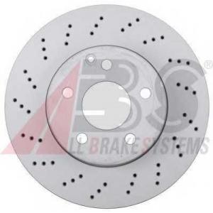 A.B.S. 17755 Тормозной диск Мерседес Ц-Класс
