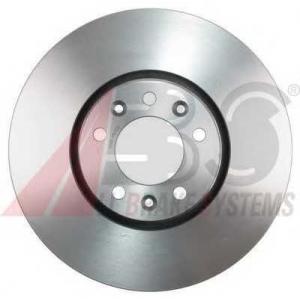 ABS 17773 Тормозной диск передний Jumpy3/Scudo3/Expert3 304x28x5
