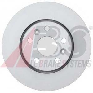 ABS 17980 Тормозной диск передний Kangoo2 15\ 280x24x5