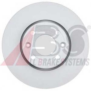 ABS 18155 Тормозной диск передний Kangoo2 14\ /Dokker/Lodgy 258x22x4