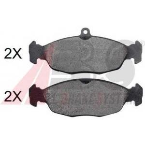 A.B.S. 35006 Комплект тормозных колодок, дисковый тормоз Ягуар