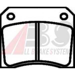 A.B.S. 36001 Комплект тормозных колодок, дисковый тормоз Ягуар