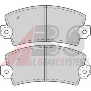 A.B.S. 36042/2 Комплект тормозных колодок, дисковый тормоз Фиат Ритмо