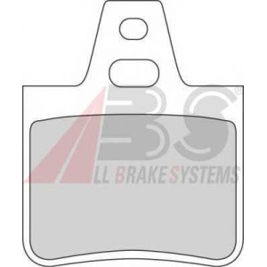 A.B.S. 36129/1 Комплект тормозных колодок, дисковый тормоз Ситроен Хм