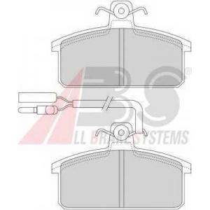 A.B.S. 36146/1 Комплект тормозных колодок, дисковый тормоз Фиат Фиорино