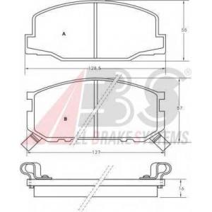 ABS 36175 Brake Pad