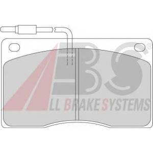 ABS 363411 Комплект тормозных колодок, дисковый тормоз
