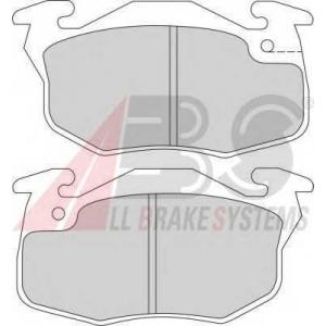 A.B.S. 36565/1 Комплект тормозных колодок, дисковый тормоз Рено Рапид