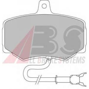 A.B.S. 36568/1 Комплект тормозных колодок, дисковый тормоз Ягуар
