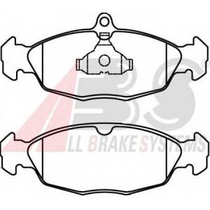 A.B.S. 36771 Комплект тормозных колодок, дисковый тормоз Опель Тигра