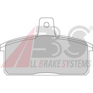 ABS 36851 Комплект тормозных колодок, дисковый тормоз