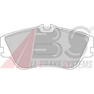 A.B.S. 36876 Колодка торм. VW TRANSPORTER 15\ передн. (пр-во ABS)