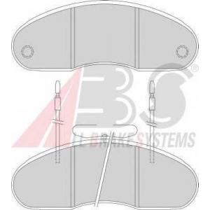 A.B.S. 36877 Комплект тормозных колодок, дисковый тормоз Рено Трафик