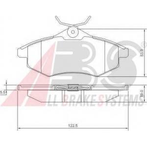 A.B.S. 37307 Комплект тормозных колодок, дисковый тормоз Ситроен С2