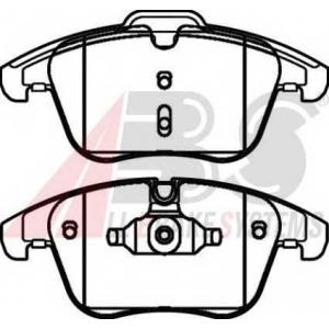 A.B.S. 37568 Комплект тормозных колодок, дисковый тормоз Форд С-Макс