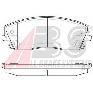 A.B.S. 37609 Комплект тормозных колодок, дисковый тормоз Крайслер 300