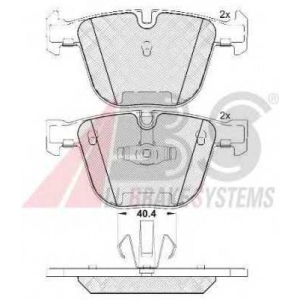 A.B.S. 37704 Комплект тормозных колодок, дисковый тормоз Бмв 5