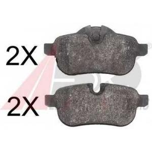 A.B.S. 37730 Комплект тормозных колодок, дисковый тормоз Бмв З4