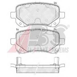 A.B.S. 37733 Комплект тормозных колодок, дисковый тормоз Фиат Фримонт