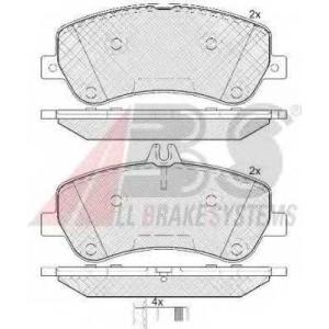 A.B.S. 37748 Комплект тормозных колодок, дисковый тормоз Мерседес Джт Л-Класс