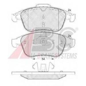 A.B.S. 37749 Комплект тормозных колодок, дисковый тормоз Рено Меган Сс