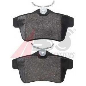 A.B.S. 37762 Комплект тормозных колодок, дисковый тормоз Ситроен Дс4
