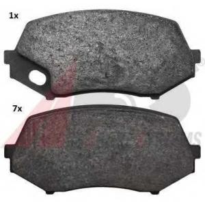 A.B.S. 37771 Комплект тормозных колодок, дисковый тормоз Митсубиси Кантер