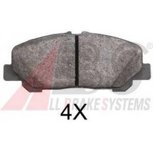 ABS 37785 Дисковые тормозные колодки, комплект