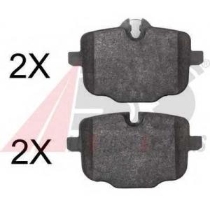 ABS 37787 Гальмiвнi колодки дисковi