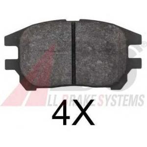 A.B.S. 37799 Комплект тормозных колодок, дисковый тормоз Лексус Р-Икс