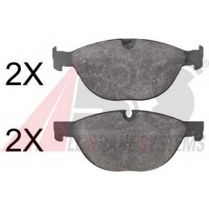 A.B.S. 37807 Комплект тормозных колодок, дисковый тормоз Ягуар