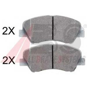 A.B.S. 37930 Комплект тормозных колодок, дисковый тормоз Киа Сид Спорт