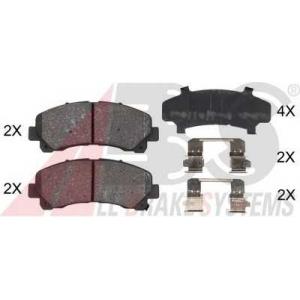 A.B.S. 37943 Комплект тормозных колодок, дисковый тормоз Исузу Д-Макс