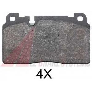 ABS 37959 Гальмiвнi колодки дисковi