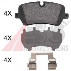 A.B.S. 37981 Гальмівні колодки диск.задні Range Rover IV 3.0D-5.0 12-