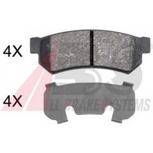 A.B.S. 37991 Комплект тормозных колодок, дисковый тормоз Шевроле Нубира
