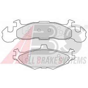 A.B.S. 38219 Комплект тормозных колодок, дисковый тормоз Крайслер Le