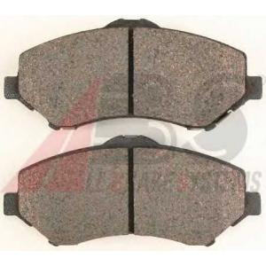 A.B.S. 38418 Комплект тормозных колодок, дисковый тормоз Додж Нитро