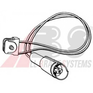A.B.S. 39505 Сигнализатор, износ тормозных колодок Бмв З1